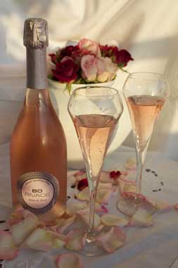Bo rivage rose sparkling wine Provence 2015 4