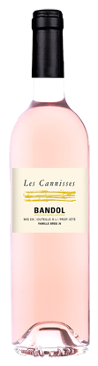 Les Cannisses rose vin appellation Bandol 2016