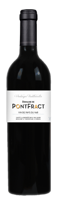 Provence wine Domaine de Pontfract red IGP VAR country wine