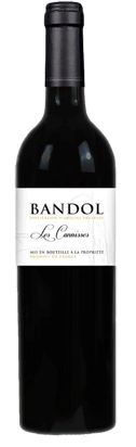 Provence wine les cannisses red AOP Bandol
