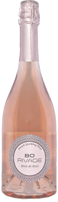 Rose sparkling wine Bo Rivage brut