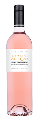 Rose wine of Provence Domaine Valfont