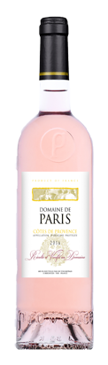 Vin rose Domaine de Paris appellation Cotes de Provence 2017