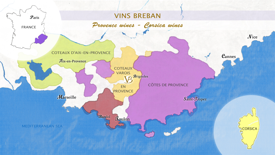 map-provencal-wines-wines-of-provence-corsica-wines-vins-breban-en